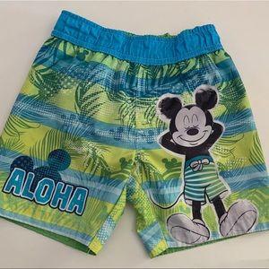 Disney Mickey Swim Trunks